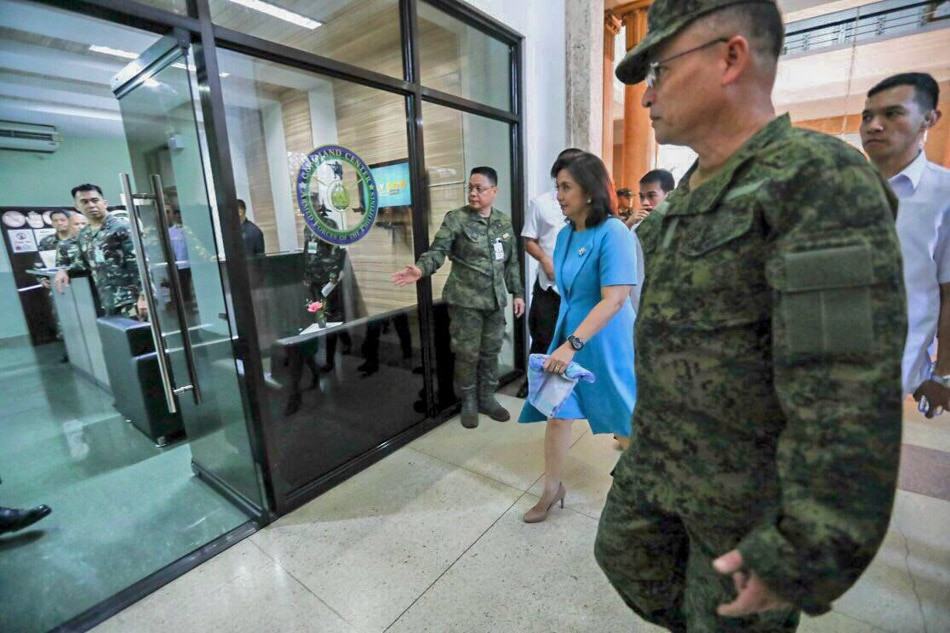 VP Robredo leads relief for Marawi