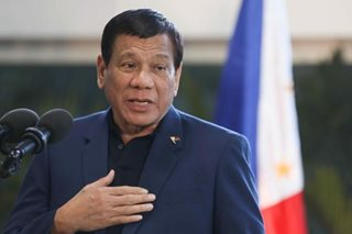 Duterte tells China to 'temper behavior' after S. China Sea incident