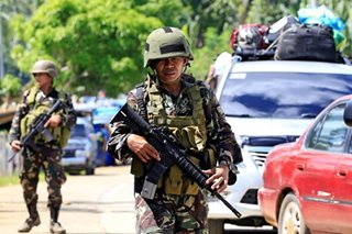 Military chief to recommend martial law extension to Duterte