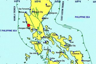 Zambales quake won't trigger West Valley Fault: Phivolcs