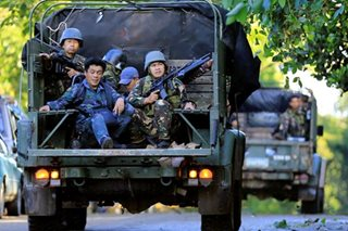 Troops on patrol after Marawi gunfight