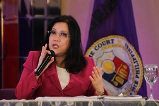 Sereno urges judiciary: Do not lose hope, do not give up