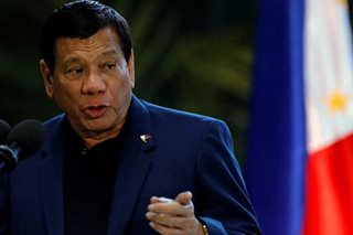 Critics blast Duterte's 'dictator' statement