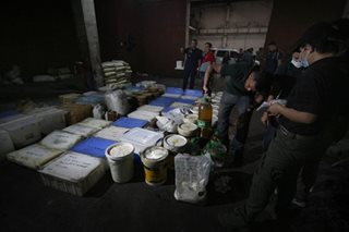PDEA seizes major shabu lab