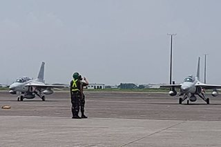 LOOK: Last batch of Korean fighter jets arrives in PH
