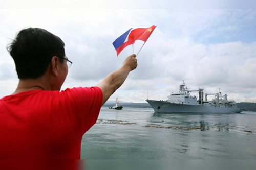 Joint patrols with China in Sulu Sea good for Mindanao: Esperon