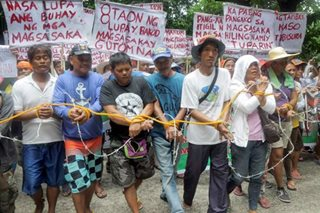 Farmers push for agrarian reform
