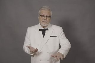 Veteran actor Ronaldo Valdez takes new role as KFC's 1st Filipino Colonel