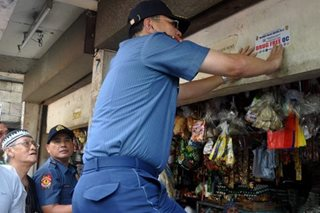 CHR raises alarm over drug drop boxes, 'narco-free' stickers
