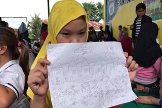 Guns, bombs and pleas for peace: the drawings of Marawi children
