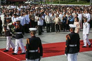 Leni leads Independence Day rites at Luneta