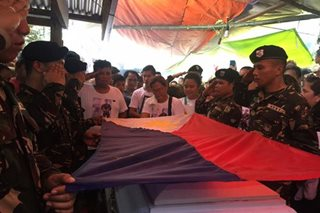Soldier who fell in Marawi laid to rest in North Cotabato hometown