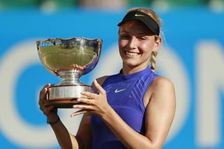 Vekic savours coming-of-age win over Konta in Nottingham