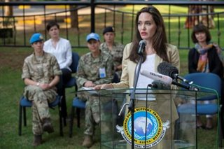 UNHCR special envoy Angelina Jolie in Kenya, visits refugee girls