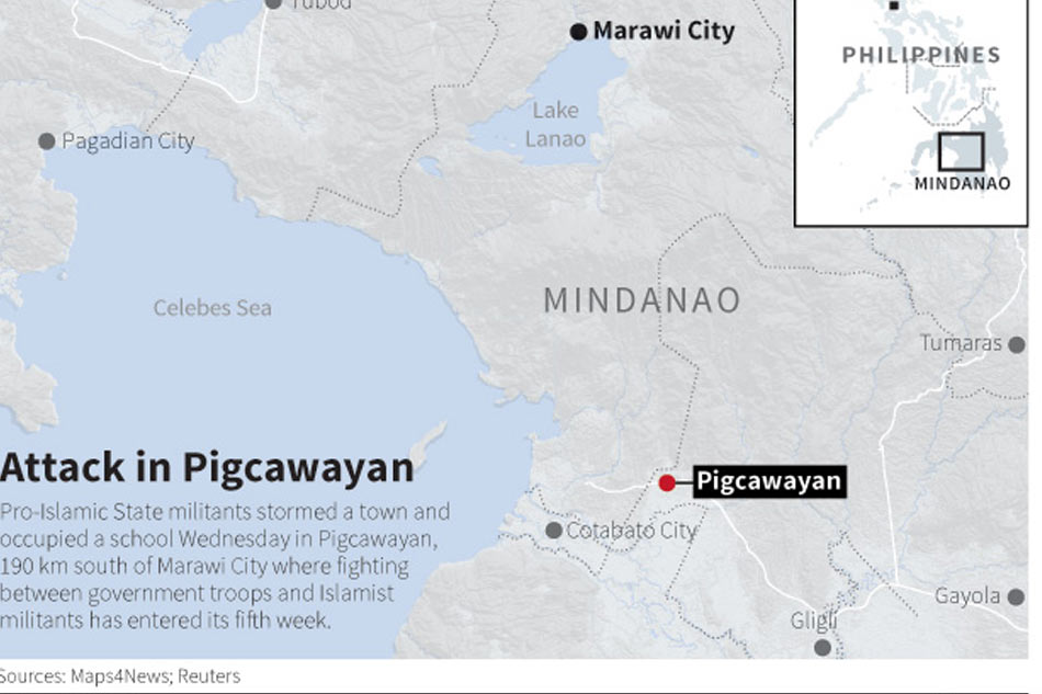 Philippines says Islamist militants free hostages after day-long drama