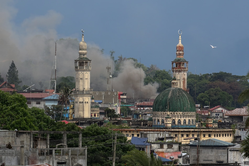 Gov't forces seize P 10-M shabu in Marawi
