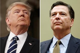 Trump denies obstructing FBI probe, says has no tapes of talks with Comey