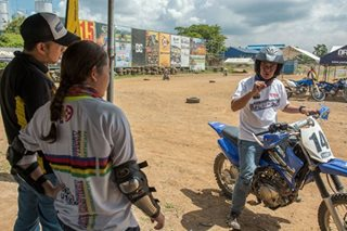 Off-road training camp teaches how to ride motorcycles safely