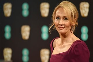 JK Rowling donates to coronavirus victims of domestic violence, homeless