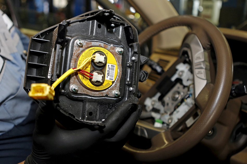 Airbag giant Takata files for bankruptcy protection | ABS-CBN News