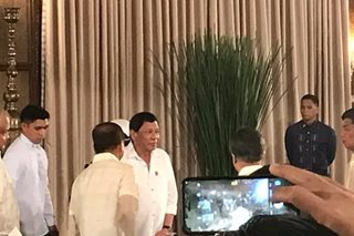 Back in public eye, Duterte hosts Palace Eid al-Fitr celebration