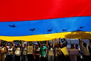 Venezuela's Maduro warns of war if 'revolution' toppled