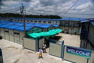 Palace says mega drug rehab center not a permanent facility