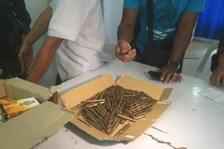 Suspected Marawi-bound ammo seized in CDO