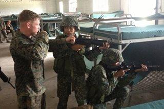 PH, US Marines hold joint urban warfare training amid Marawi offensives
