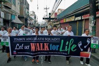 Martsa vs. pagpatay ng 'drug suspects', isinagawa sa Caloocan