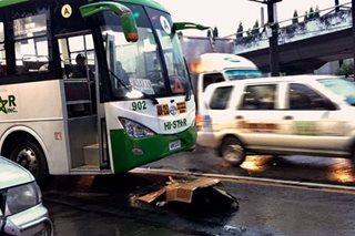 Lalaki nasagasaan ng bus sa EDSA-Ayala, patay