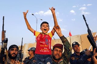 Islamic State cornered in Mosul as Iraq prepares victory celebrations
