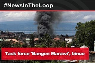 In the Loop: Task force 'Bangon Marawi' binuo