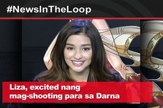 In the Loop: Liza Soberano, excited nang mag-shooting para sa Darna movie