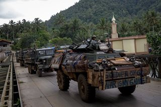 Military replenishes arsenal depleted in Marawi conflict