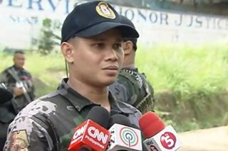 Defense chief opposes sending 'scalawag' cops to Marawi