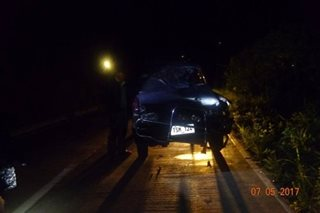 1 dead, 2 injured in vehicle collision in Benguet