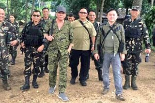 Duterte to troops: Don't get caught alive