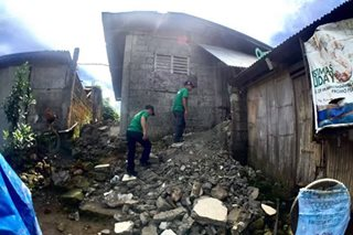 Mom dies protecting baby as house collapses during Leyte quake