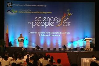 Kahandaan sa sakuna, binigyang diin sa Nat'l Science and Technology Week
