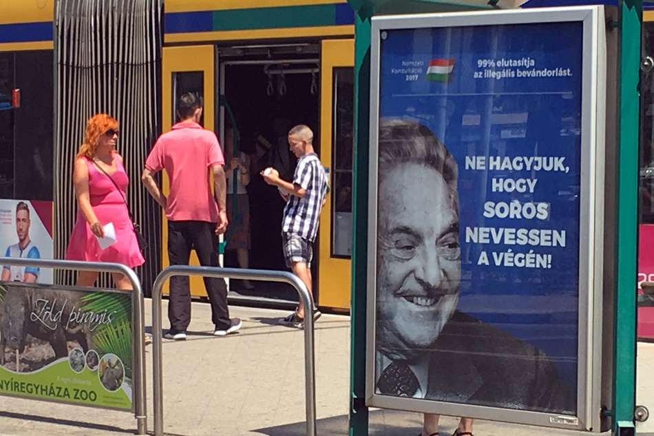 Israel Overrules its Ambassador to Hungary on Anti-Soros Ads