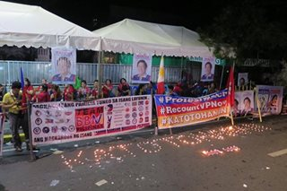 Marcos supporters picket SC ahead of poll protest pre-trial