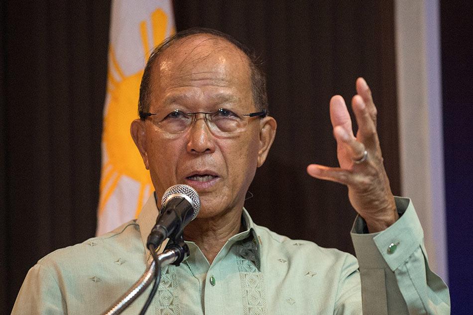 Defense chief says no knowledge on destabilization plots 1