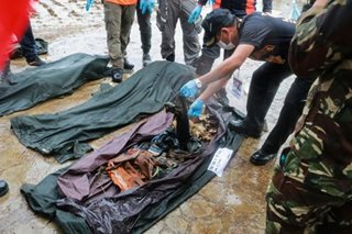 Remains retrieved in Marawi