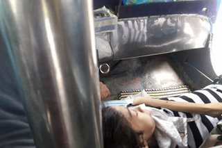 VIRAL: A jeepney driver and his ailing passenger