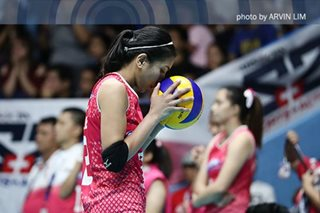 Valdez banks on teammates to lead Creamline to semis