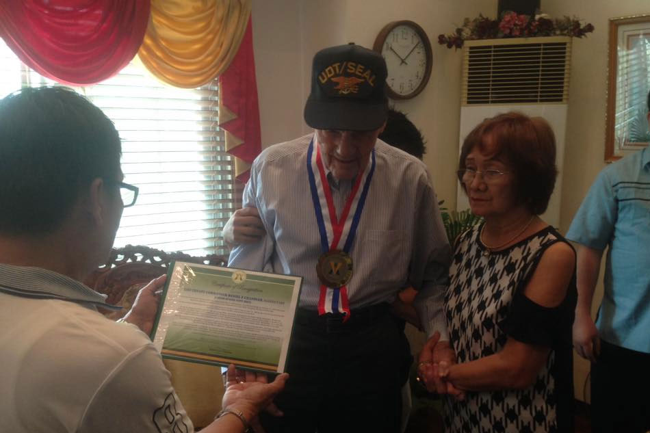 ww2 veteran who landed with macarthur in leyte gets philippine