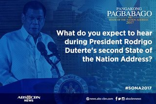 No holds barred: What netizens expect from SONA 2017