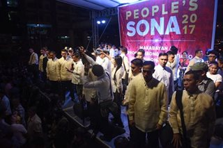 Duterte won't meet SONA protesters this year, says aide