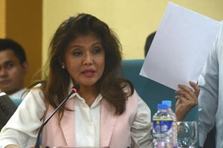 Imee mum on return of Marcos wealth, wants end to all charges